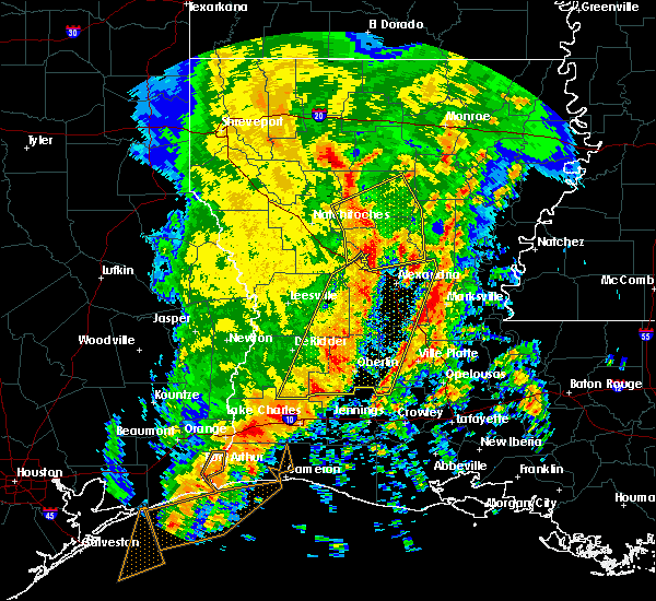 Radar Image for Severe Thunderstorms near Ball, LA at 1/2/2017 11:17 AM CST