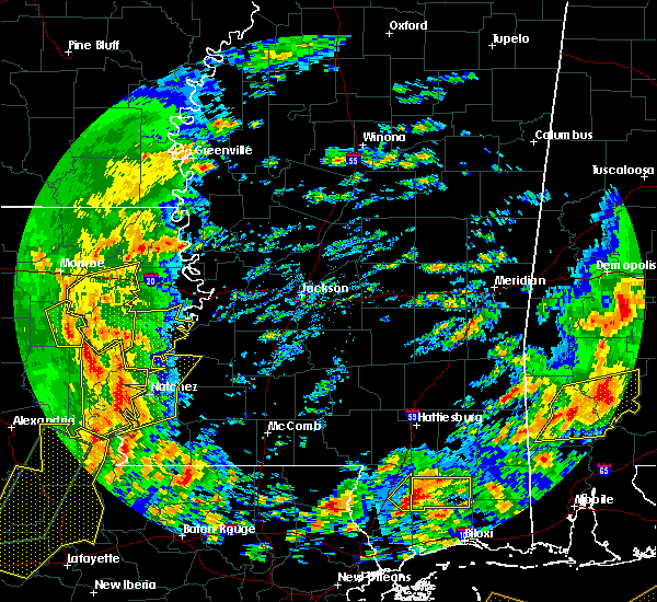 Radar Image for Severe Thunderstorms near Mangham, LA at 1/2/2017 12:12 PM CST