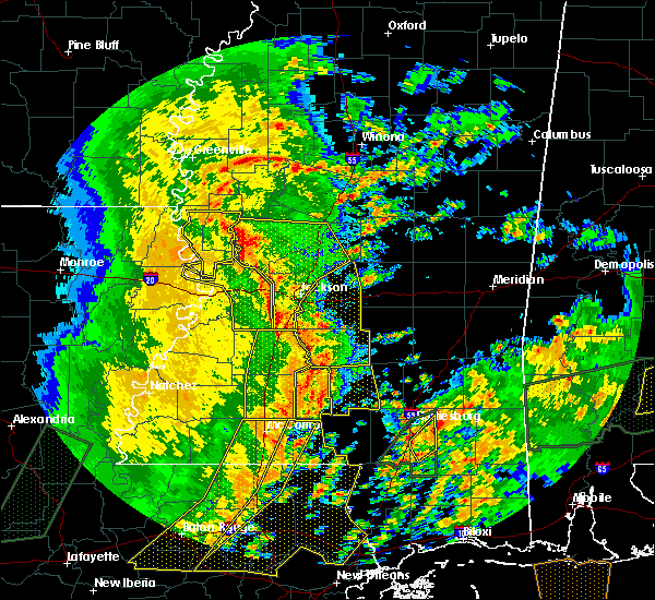 Radar Image for Severe Thunderstorms near Raymond, MS at 1/2/2017 1:59 PM CST