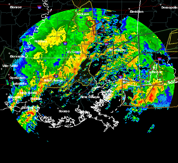 Radar Image for Severe Thunderstorms near Independence, LA at 1/2/2017 2:30 PM CST
