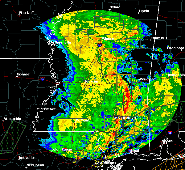 Radar Image for Severe Thunderstorms near Lauderdale, MS at 1/2/2017 3:23 PM CST