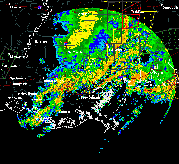 Radar Image for Severe Thunderstorms near Picayune, MS at 1/2/2017 3:25 PM CST