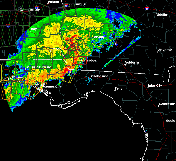 Interactive Hail Maps Hail Map For Albany Ga
