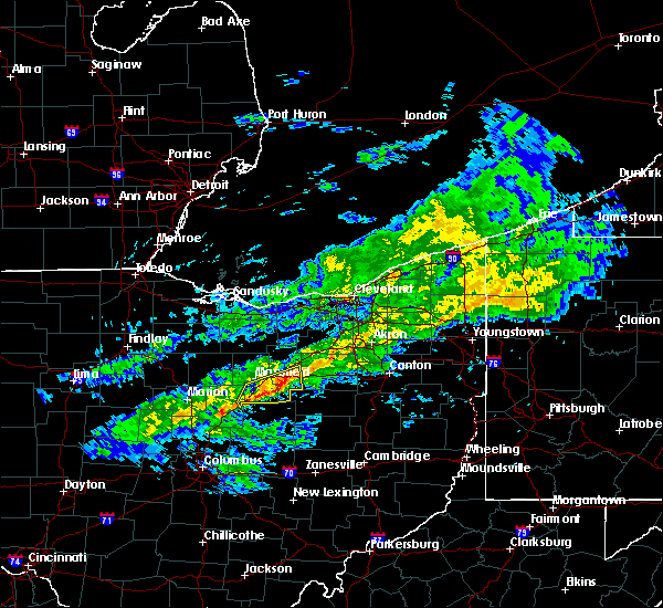 Radar Image for Severe Thunderstorms near Lucas, OH at 1/12/2017 12:49 PM EST