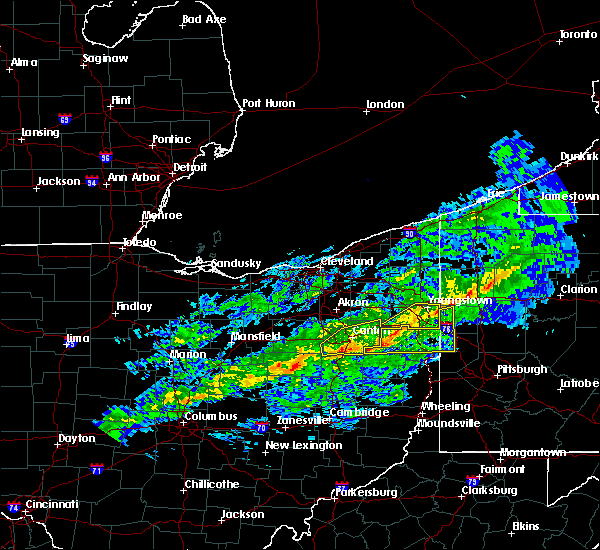 Radar Image for Severe Thunderstorms near Massillon, OH at 1/12/2017 1:57 PM EST