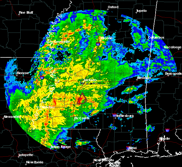 Radar Image for Severe Thunderstorms near Georgetown, MS at 1/19/2017 6:33 AM CST