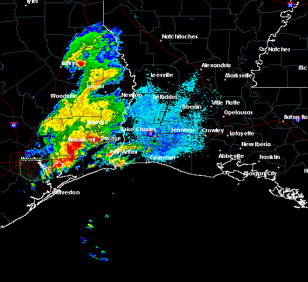 Radar Image for Severe Thunderstorms near Vidor, TX at 1/20/2017 7:38 PM CST
