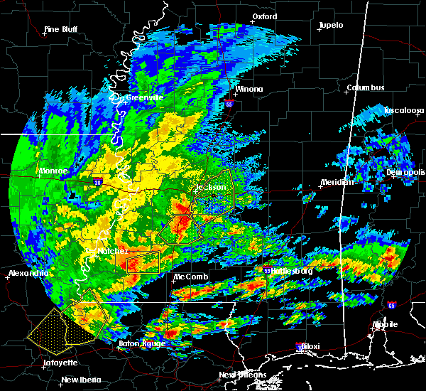 Radar Image for Severe Thunderstorms near Brandon, MS at 1/21/2017 2:06 AM CST
