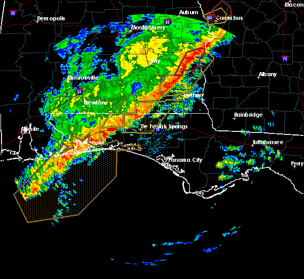 Radar Image for Severe Thunderstorms near Niceville, FL at 1/21/2017 10:00 AM CST