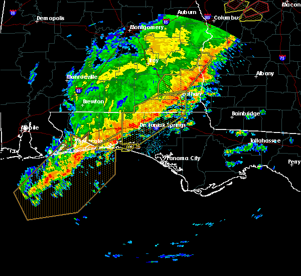 Radar Image for Severe Thunderstorms near Niceville, FL at 1/21/2017 10:31 AM CST