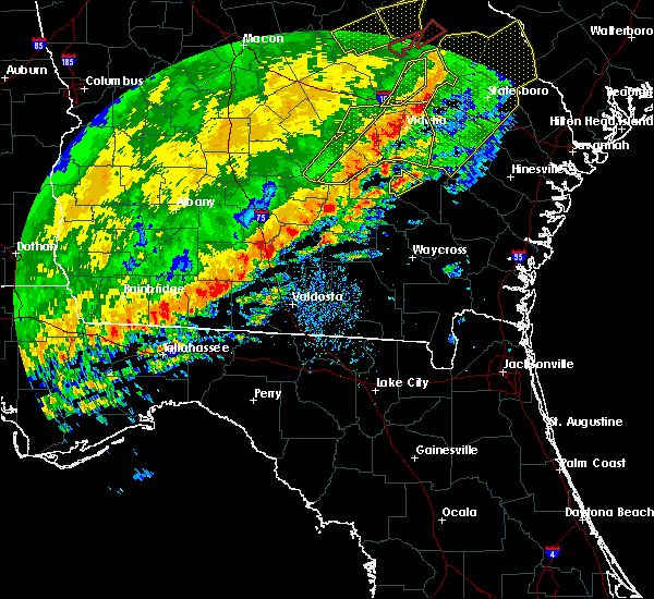 Radar Image for Severe Thunderstorms near Baxley, GA at 1/21/2017 2:17 PM EST