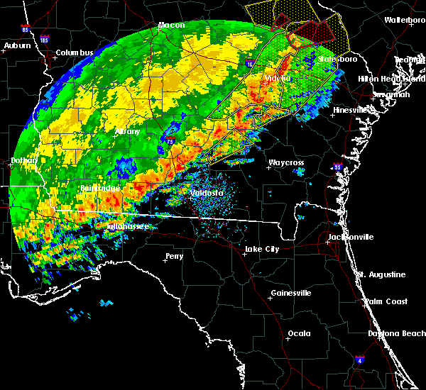Radar Image for Severe Thunderstorms near Baxley, GA at 1/21/2017 2:26 PM EST