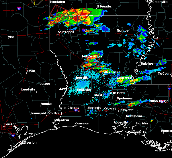Radar Image for Severe Thunderstorms near St. Maurice, LA at 1/21/2017 6:18 PM CST