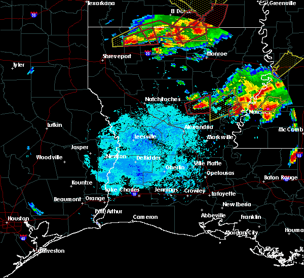 Radar Image for Severe Thunderstorms near Minorca, LA at 1/21/2017 8:15 PM CST