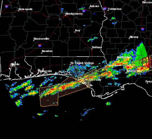 Radar Image for Severe Thunderstorms near Lynn Haven, FL at 1/22/2017 7:09 AM CST