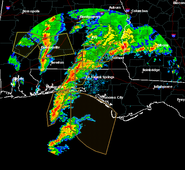 Radar Image for Severe Thunderstorms near Niceville, FL at 1/22/2017 11:35 AM CST