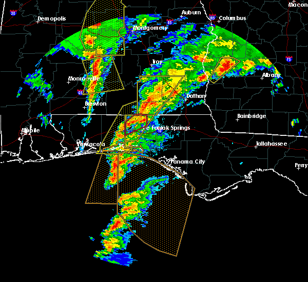 Radar Image for Severe Thunderstorms near Niceville, FL at 1/22/2017 11:59 AM CST