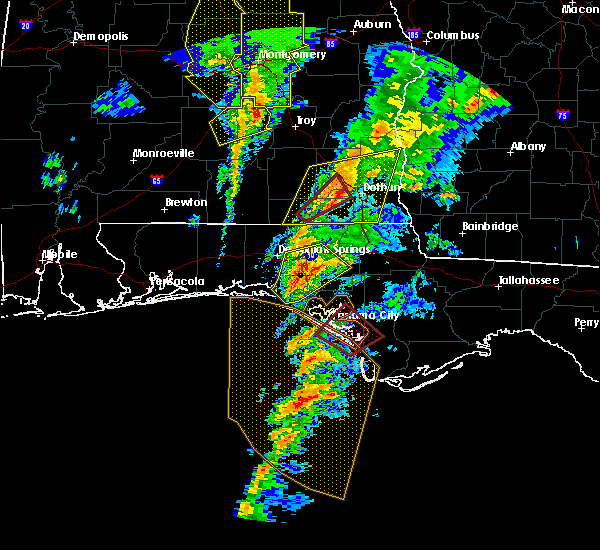 Radar Image for Severe Thunderstorms near Lynn Haven, FL at 1/22/2017 12:39 PM CST