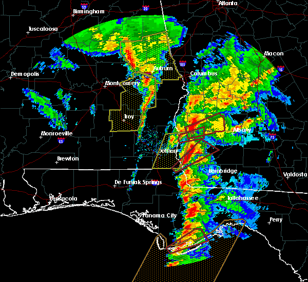 Radar Image for Severe Thunderstorms near Colquitt, GA at 1/22/2017 2:49 PM EST