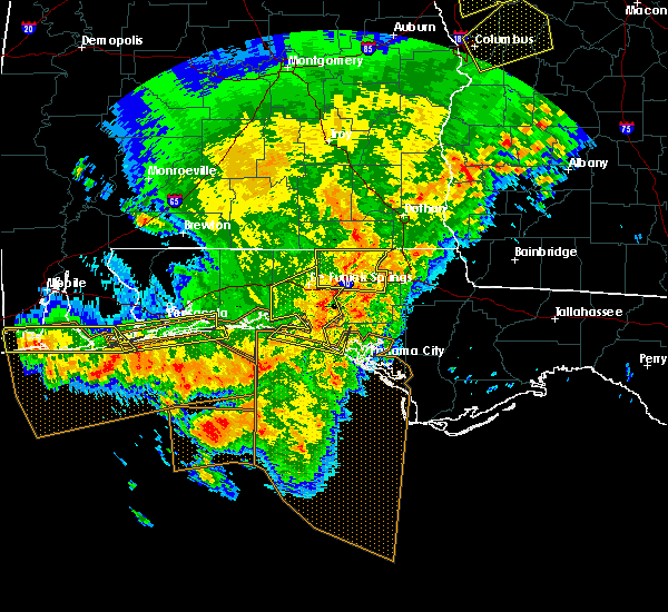 Radar Image for Severe Thunderstorms near Midway, FL at 2/7/2017 4:08 PM CST