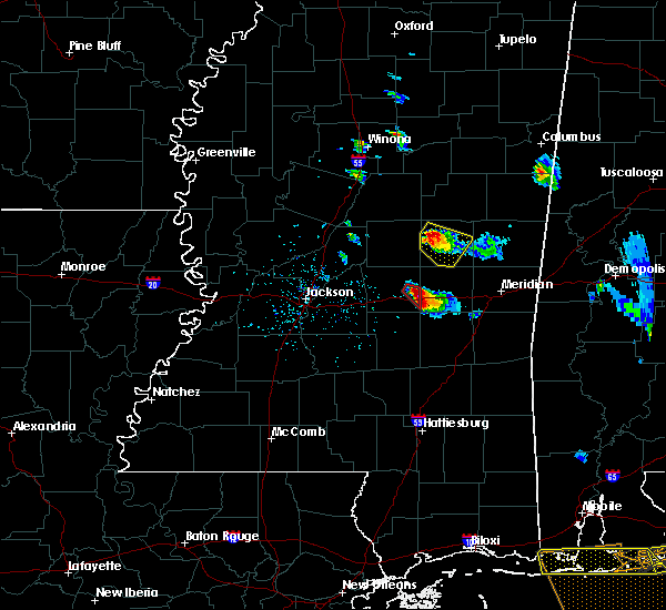 Radar Image for Severe Thunderstorms near Pearl River, MS at 2/7/2017 4:30 PM CST