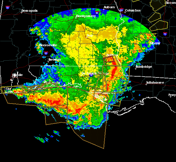 Radar Image for Severe Thunderstorms near Lynn Haven, FL at 2/7/2017 4:45 PM CST