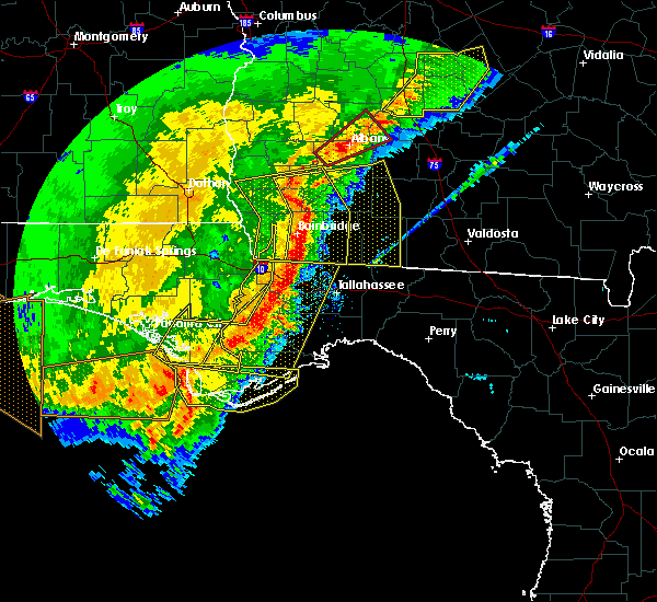 Radar Image for Severe Thunderstorms near Panama City, FL at 2/7/2017 5:25 PM CST