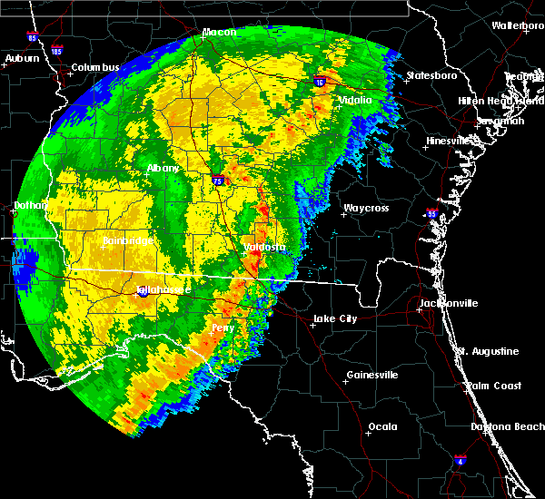 Radar Image for Severe Thunderstorms near Day, FL at 2/7/2017 8:18 PM EST