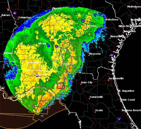 Radar Image for Severe Thunderstorms near Day, FL at 2/7/2017 8:28 PM EST
