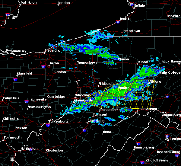 Radar Image for Severe Thunderstorms near Youngstown, PA at 2/12/2017 8:21 PM EST