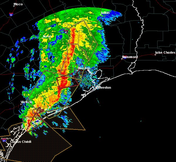Radar Image for Severe Thunderstorms near Cedar Point, TX at 2/14/2017 8:24 AM CST