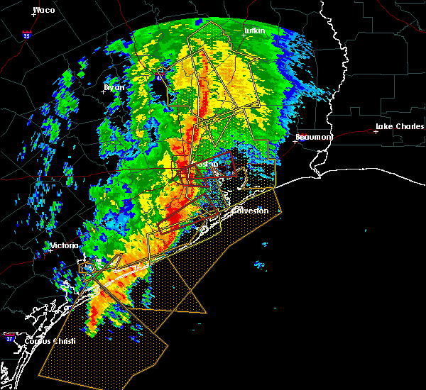 Radar Image for Severe Thunderstorms near Pasadena, TX at 2/14/2017 9:13 AM CST