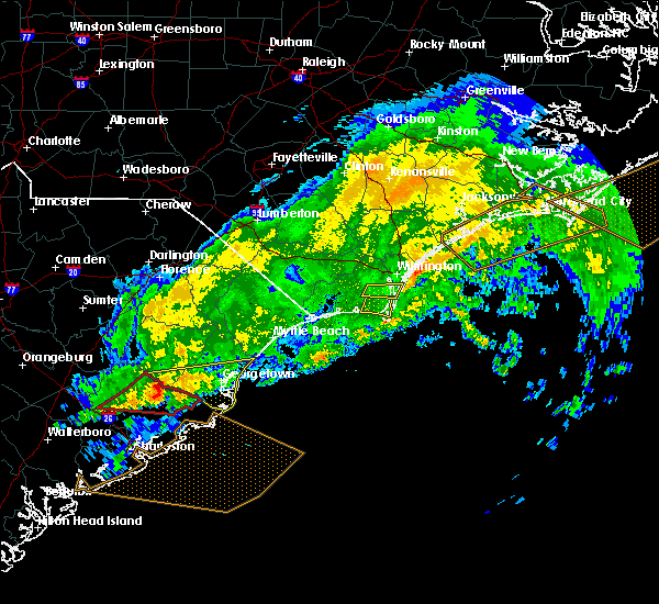 Radar Image for Severe Thunderstorms near Murrells Inlet, SC at 2/15/2017 12:38 PM EST