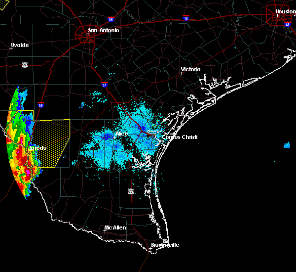 Radar Image for Severe Thunderstorms near Laredo Ranchettes, TX at 2/19/2017 7:55 PM CST
