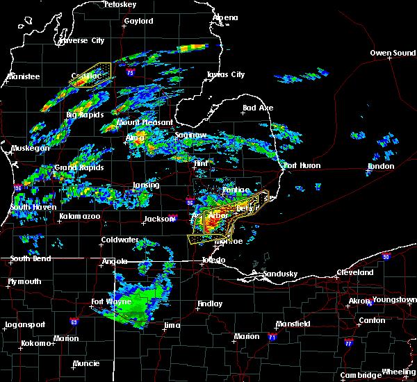Interactive Hail Maps Hail Map For Carleton Mi