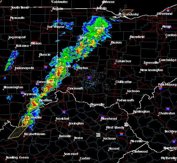 Radar Image for Severe Thunderstorms near Oxford, OH at 2/24/2017 6:38 PM EST