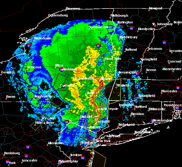 Radar Image for Severe Thunderstorms near Canaan, CT at 2/25/2017 6:12 PM EST