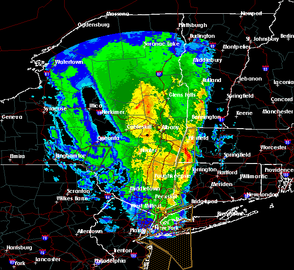 Radar Image for Severe Thunderstorms near Canaan, CT at 2/25/2017 6:55 PM EST