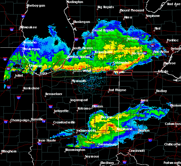 Radar Image for Severe Thunderstorms near Holiday City, OH at 2/28/2017 11:18 PM EST
