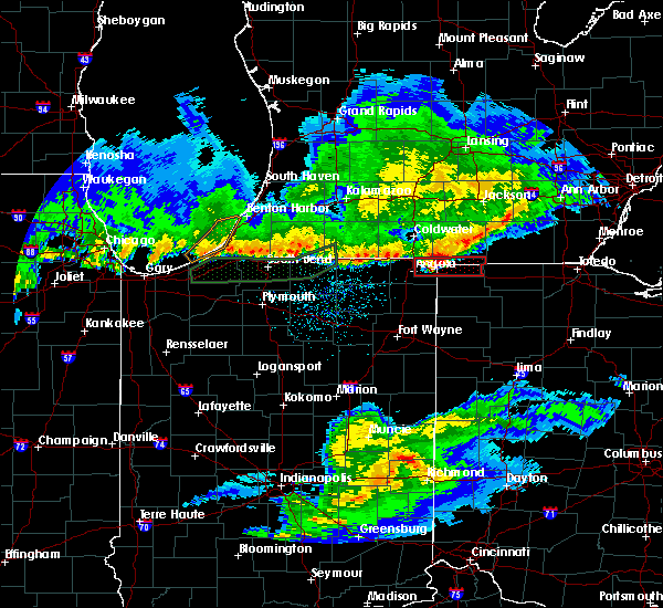 Radar Image for Severe Thunderstorms near Holiday City, OH at 2/28/2017 11:20 PM EST