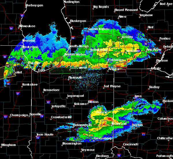 Radar Image for Severe Thunderstorms near Holiday City, OH at 2/28/2017 11:28 PM EST