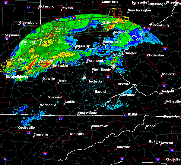 Radar Image for Severe Thunderstorms near Midway, KY at 3/1/2017 3:30 AM EST