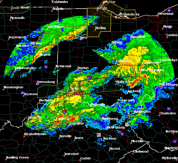 Radar Image for Severe Thunderstorms near Amelia, OH at 3/1/2017 3:44 AM EST