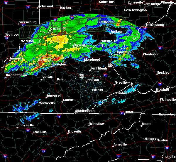 Radar Image for Severe Thunderstorms near Paris, KY at 3/1/2017 3:46 AM EST
