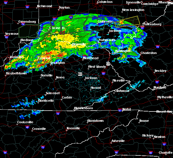 Radar Image for Severe Thunderstorms near Paris, KY at 3/1/2017 3:55 AM EST