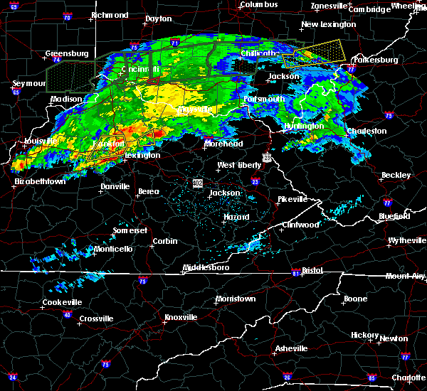 Radar Image for Severe Thunderstorms near Paris, KY at 3/1/2017 3:59 AM EST