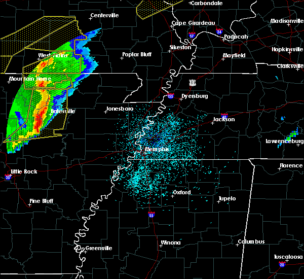 Radar Image for Severe Thunderstorms near Horseshoe Bend, AR at 3/1/2017 3:02 AM CST
