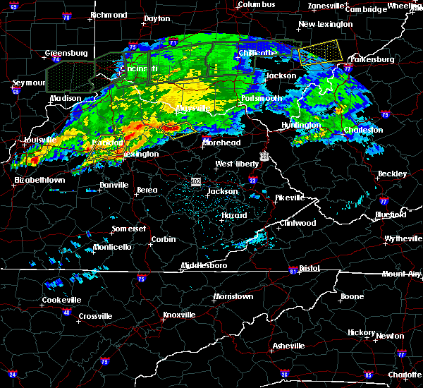 Radar Image for Severe Thunderstorms near Ewing, KY at 3/1/2017 4:05 AM EST