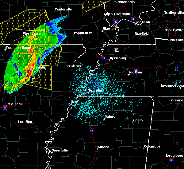 Radar Image for Severe Thunderstorms near Strawberry, AR at 3/1/2017 3:11 AM CST