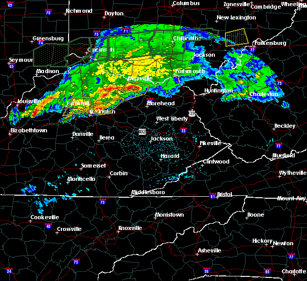 Radar Image for Severe Thunderstorms near Paris, KY at 3/1/2017 4:14 AM EST